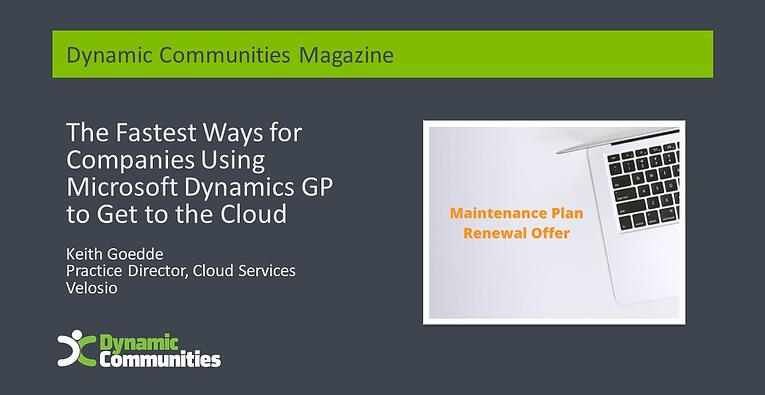 DC-Magazine-Header-GP - Maintenance Plan Renewal Offer